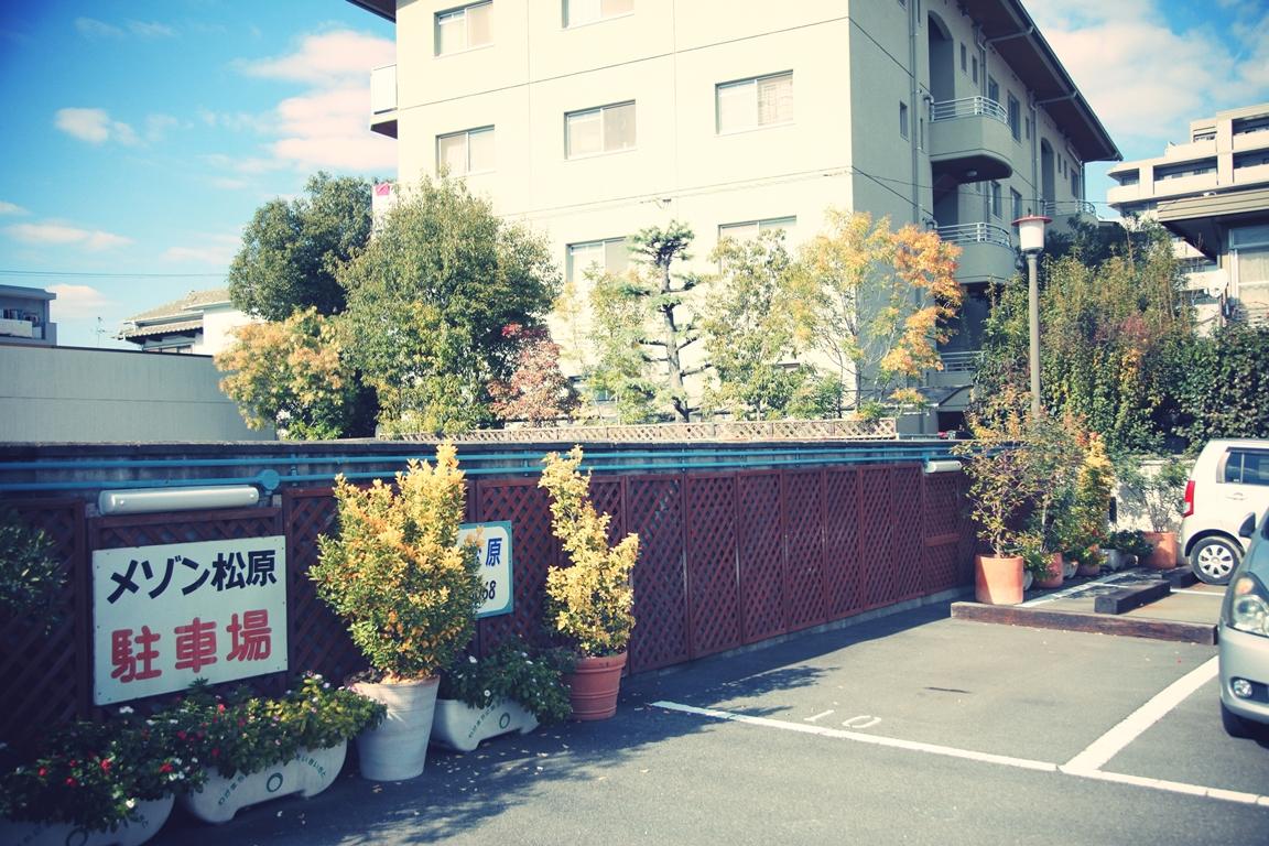 メゾン松原 駐車場 2014 秋(eos5d2 ef24-105mm)